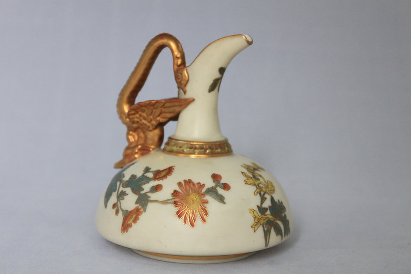 Royal Worcetser ewer with a dragon handle