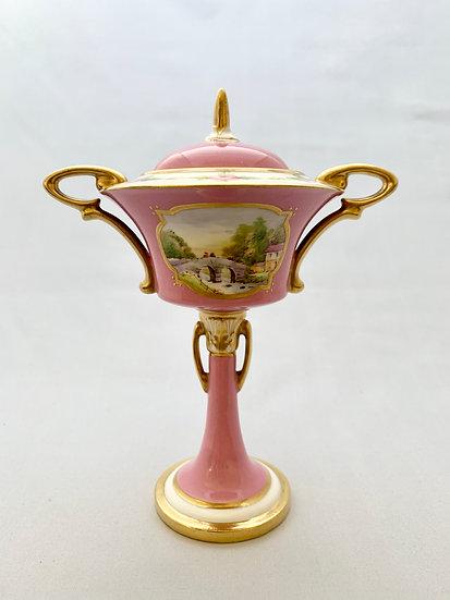 Minton Art Nouveau vase