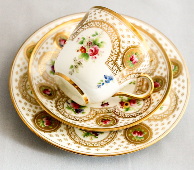 Brown, Westhead & Moore cup and saucer