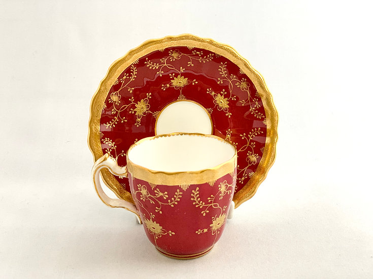 Minton demitasse coffee cup and saucer