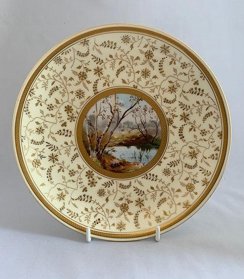 Minton aesthetic movement plate