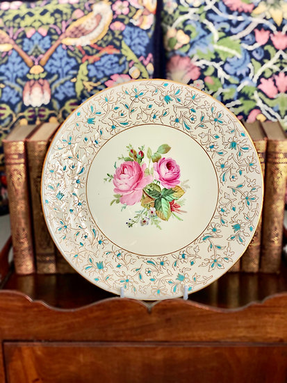 Minton plate made for Tiffany & Co.