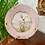 Thumbnail: Minton plate painted with exotic flowers
