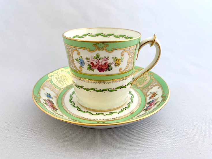 Royal Crown Derby demitasse cup and saucer
