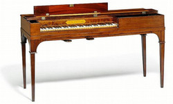 Carl Hoelse's piano