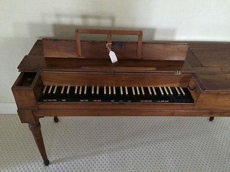 Baumann Square piano Tafeklavier piano carré