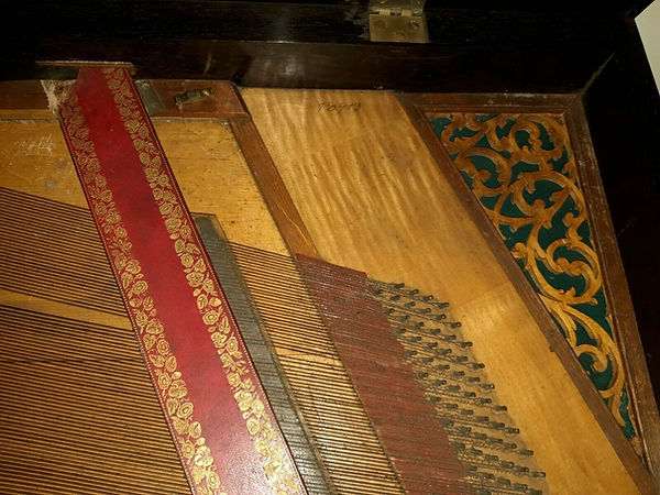 Clementi square piano reverberation brid