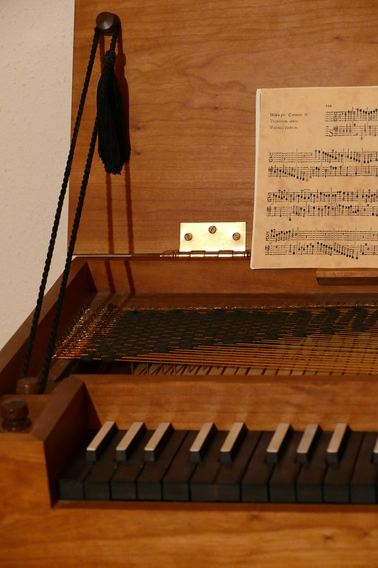 Gh.Potvlieghe Clavichord for sale