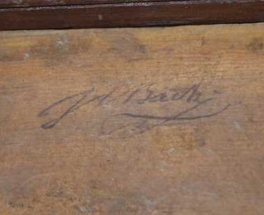 Johann Christian Bach signature