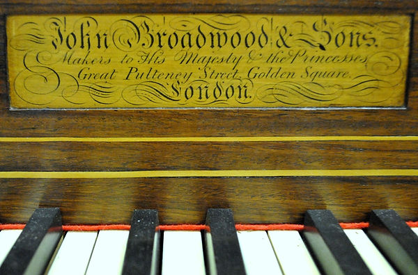 Broadwood square piano for sale
