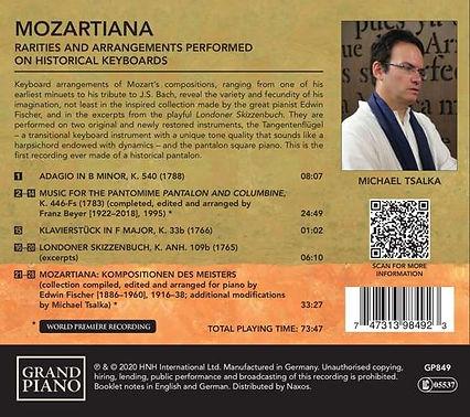 Naxos Mozartiana Pooya Radbon Tangent Pi