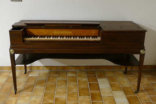 Broadwood square piano