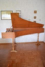 Cembalo zu verkaufen Harpsichord for sale Zuckerman