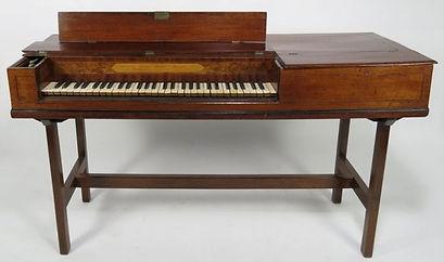 Zumpe Square piano Tafeklavier piano carré