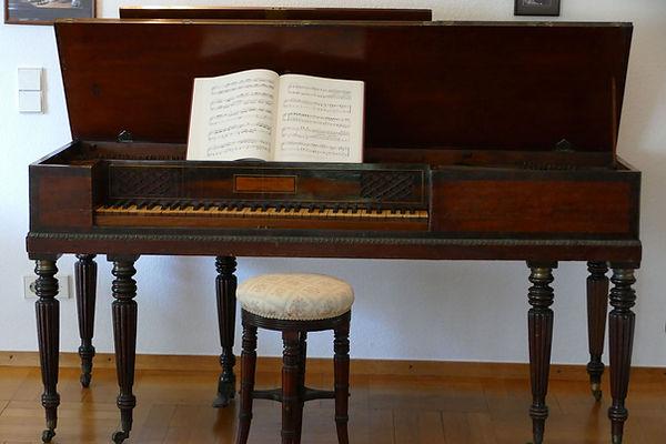 Broadwood 1818 Square piano Tafelklavier