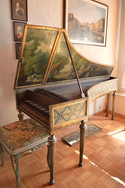 Italian harpsichord concert rent