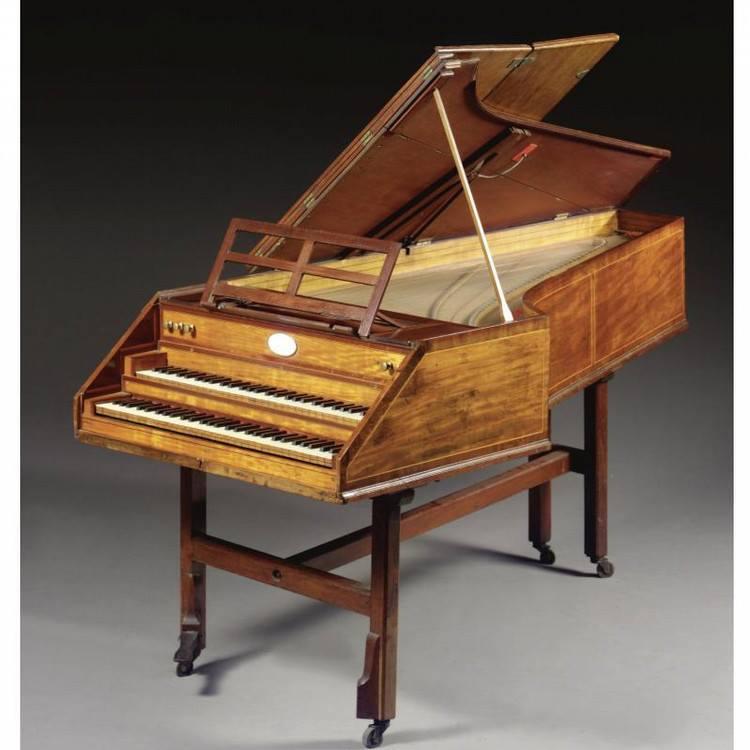 Longman & Broderip Harpsichord