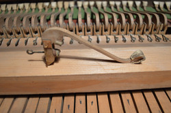French anon. Fortepiano Hammer