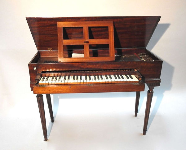 Square piano Tafeklavier piano carré