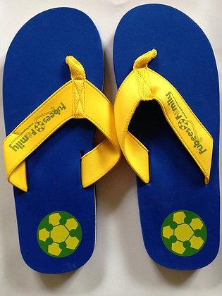 Fugees Flip Flops
