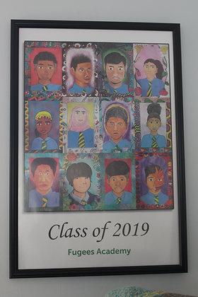 Optional Frame for Senior Poster