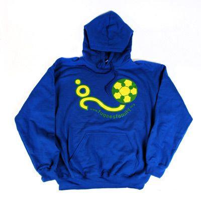 Fugees Blue Hoodie