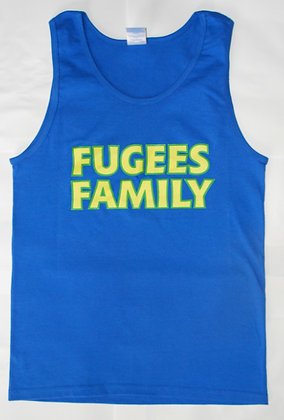 Fugees Blue Tank Top