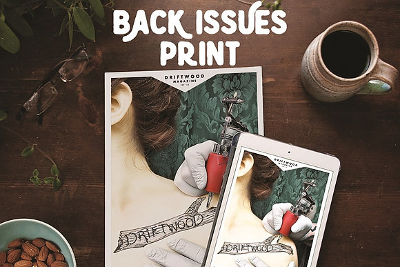 Driftwood back issues - print only