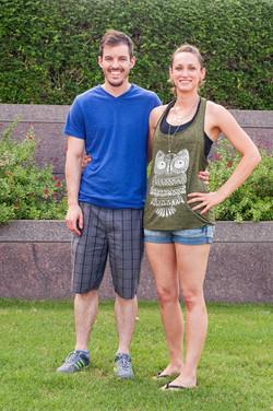 Katie Medlock and Philip McCloskey