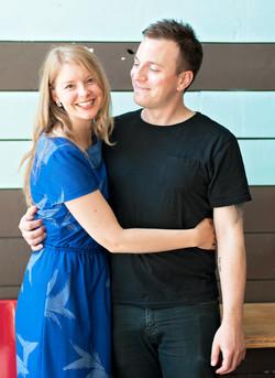 Nicole Brodeur and Alex Payne