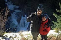 Josh Raymond and Stephanie Rice