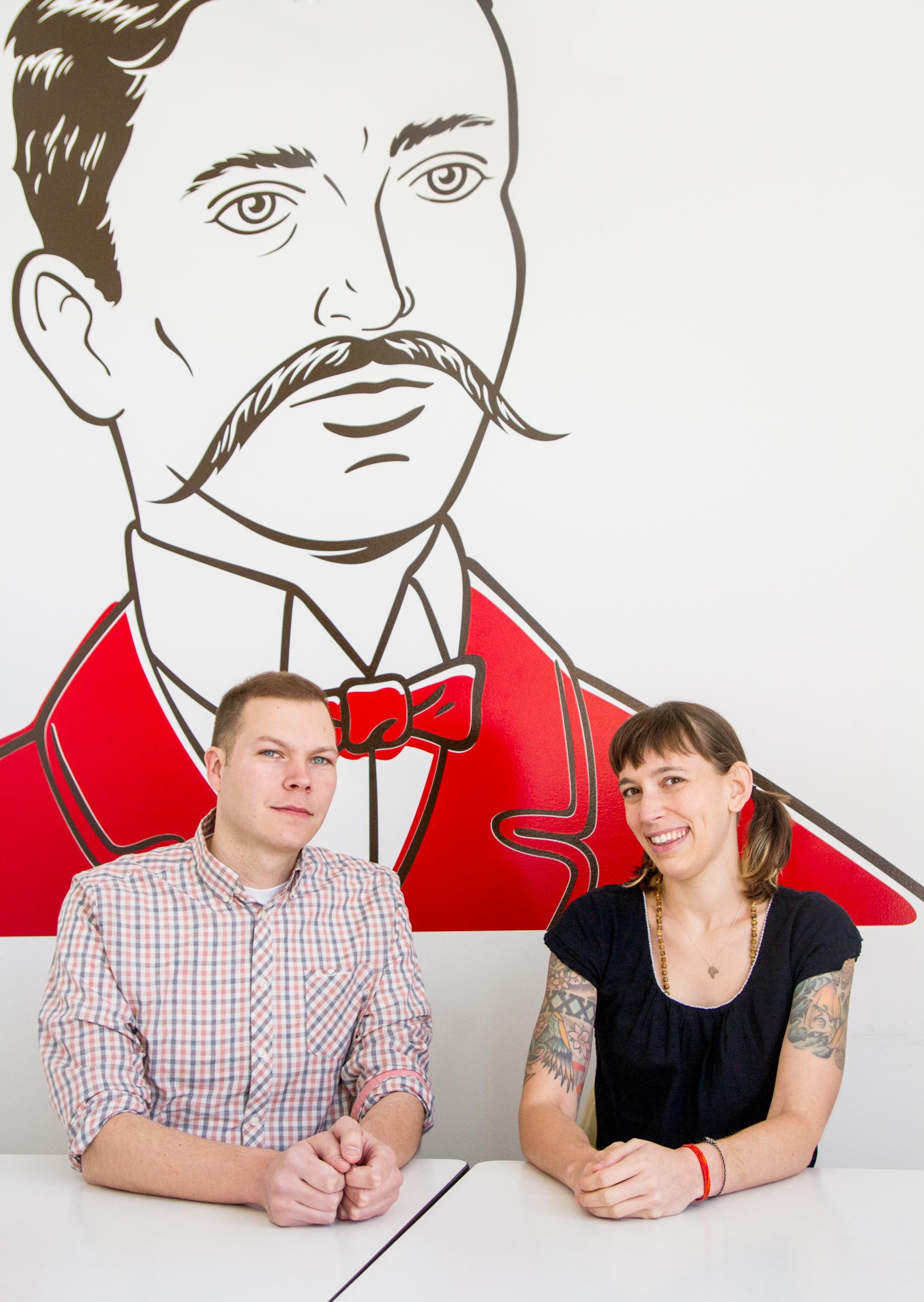 Daniel Staackmann and Nicole Sopko