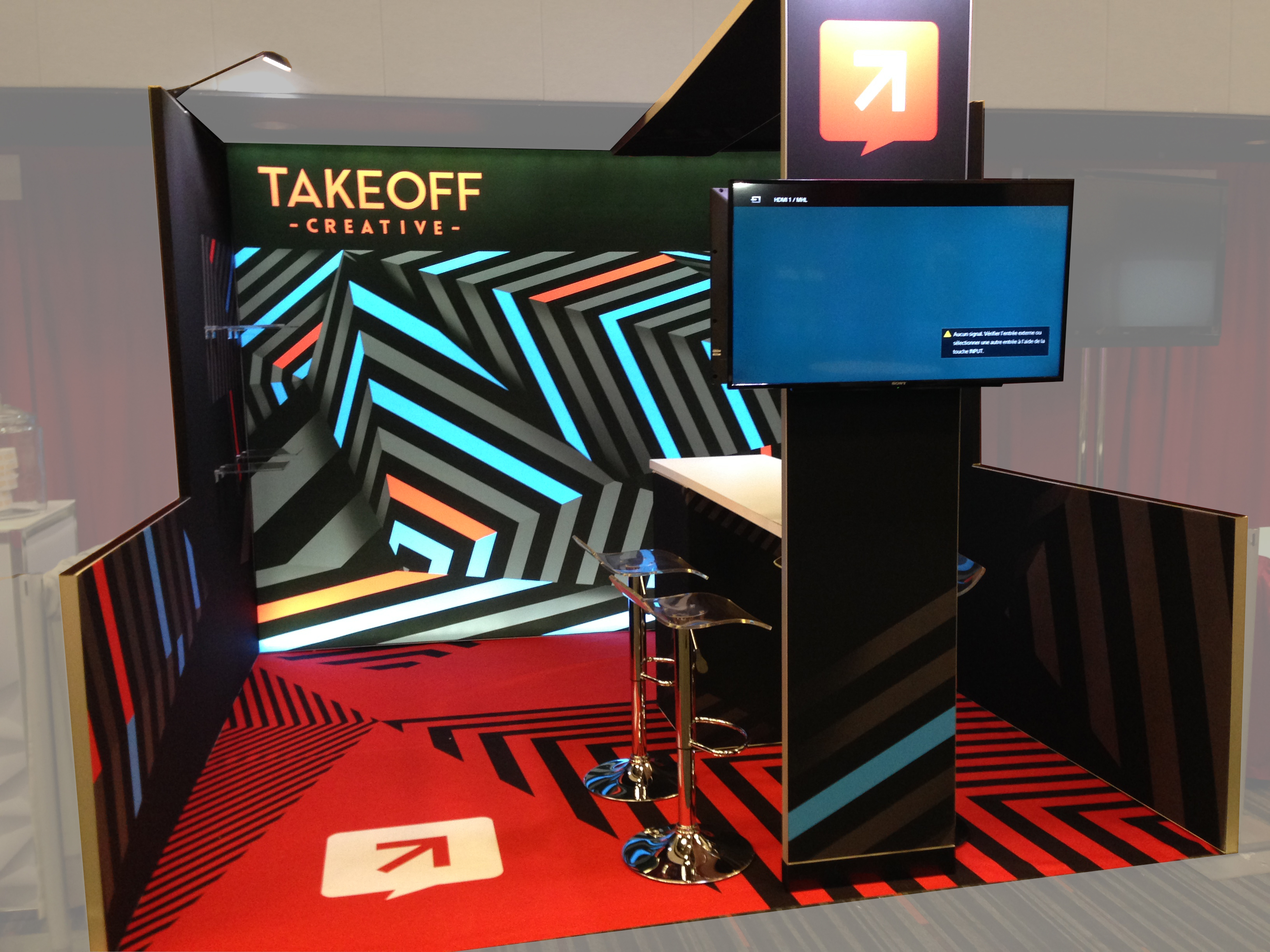 Kiosque TAKEOFF CREATIVE