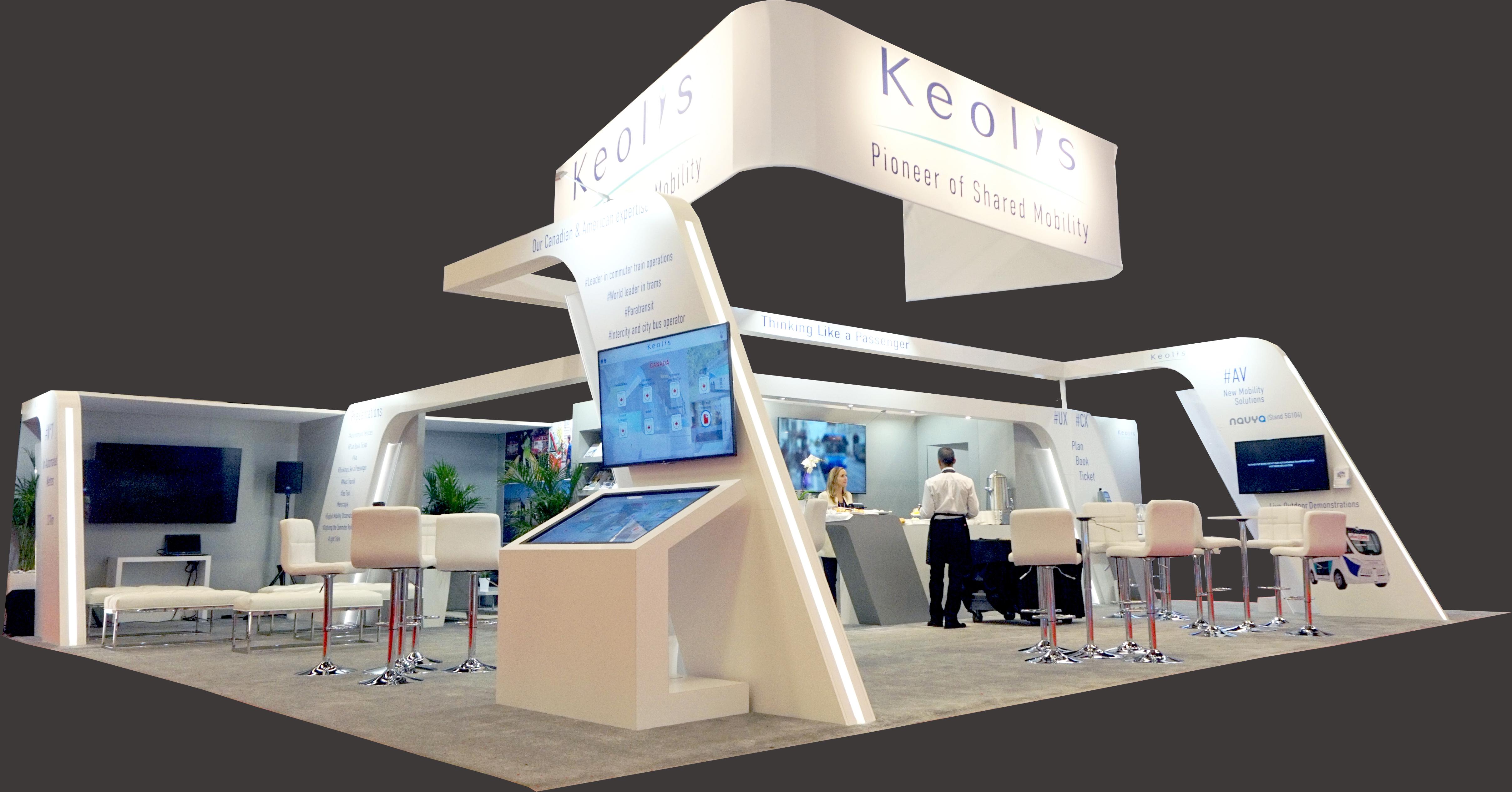 Kiosque KEOLIS 40'x30'
