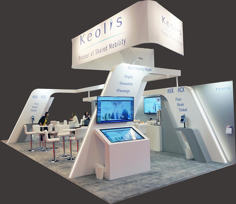 Realisation du Kiosque Keolis en menuiserie