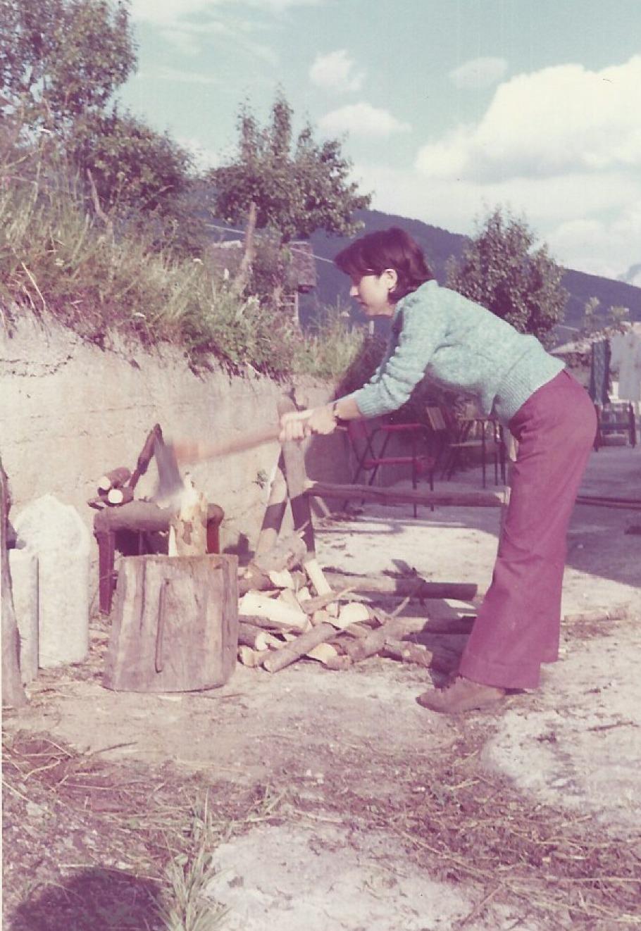 Selva Val Gardena metà anni '70