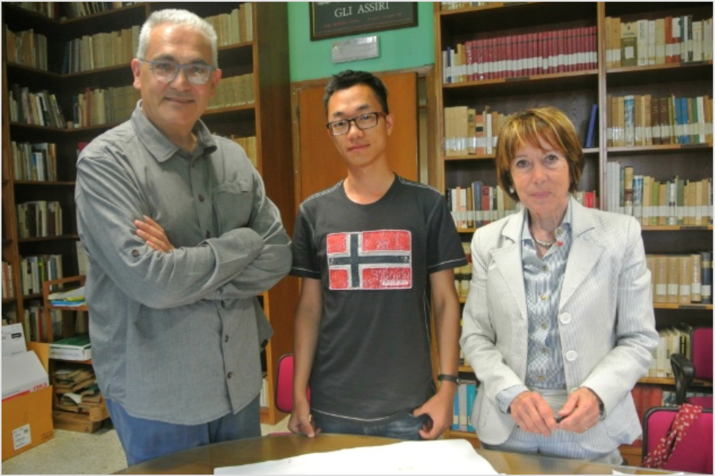 Con Tiziano Arrigoni e Kun Sang