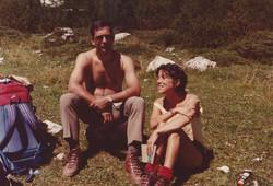 Dolomiti di Sesto, anni '80
