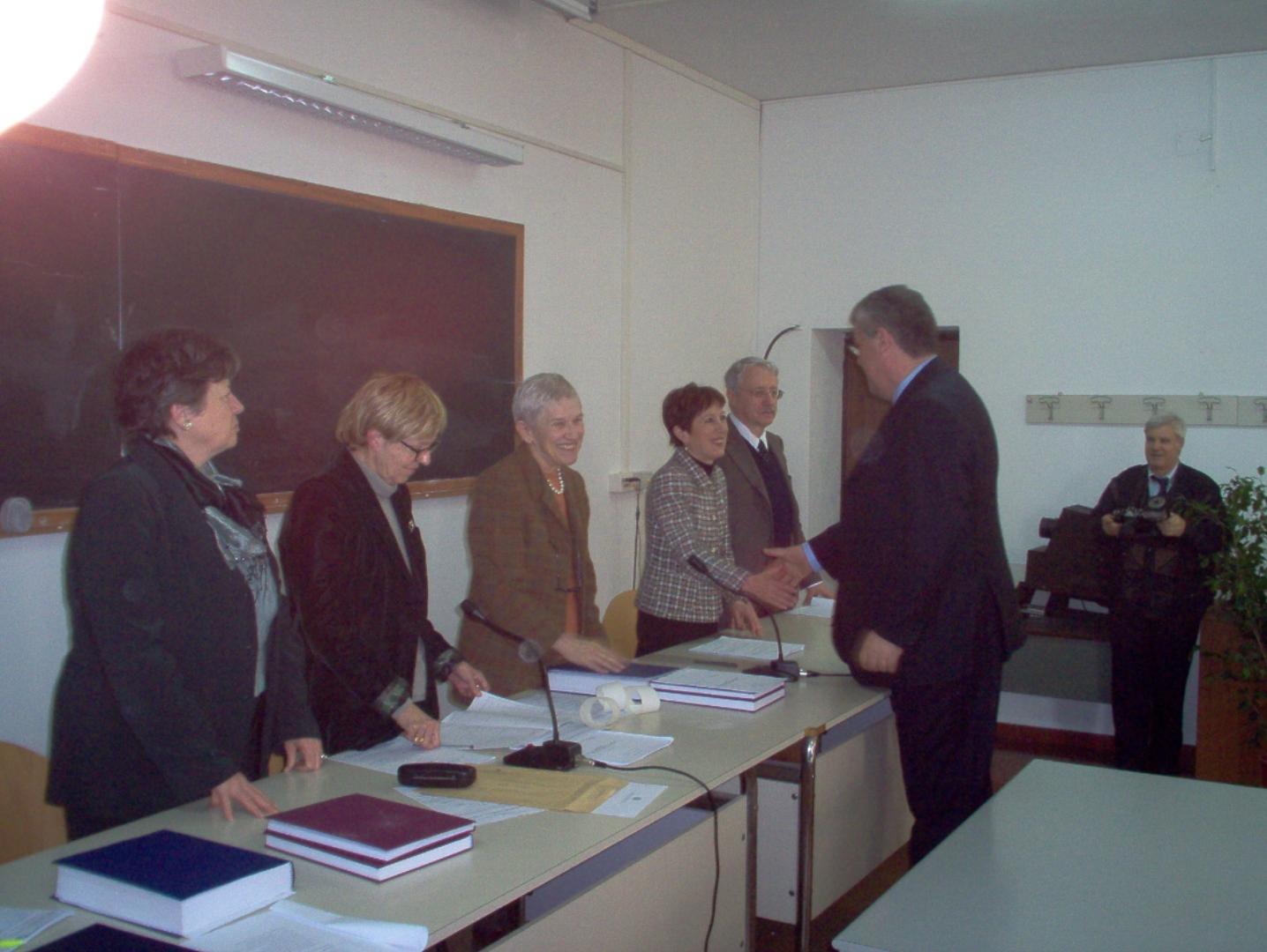 Laurea di Aurelio Pellegrini