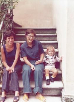 Con Eva Celotti e Giulia a Gemona