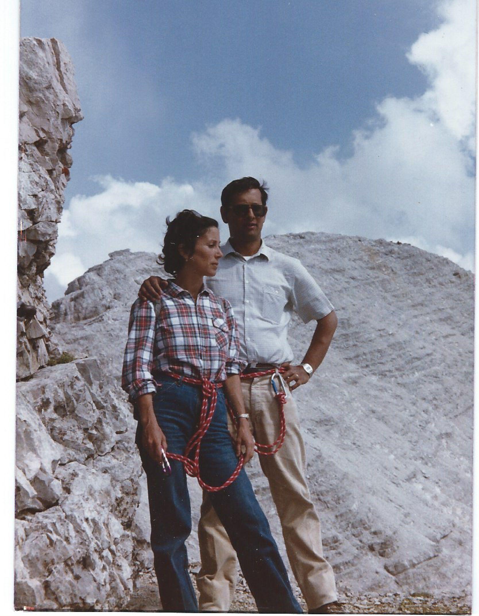 Dolomiti di Sesto 1982-84 con Eugene