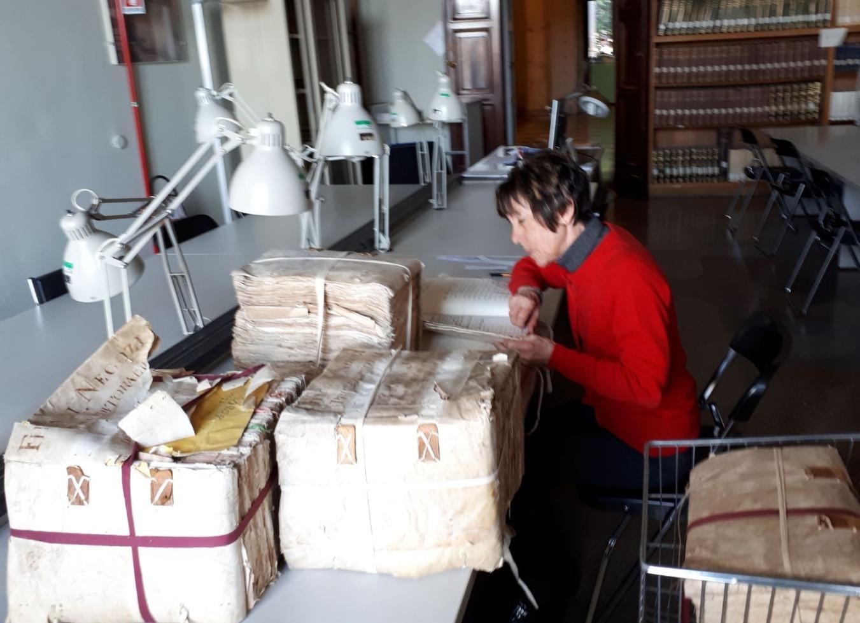 Lavoro in archivio