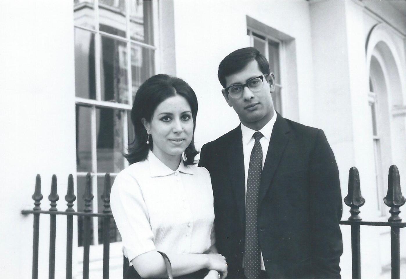Giuliana e Eugene Cleur, Londra 1968