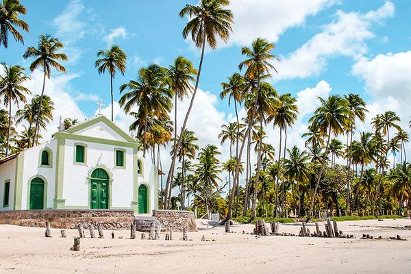 海灘上的教堂