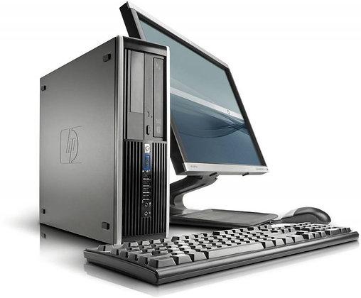 COMBO CPU HP  + MONITOR DELL