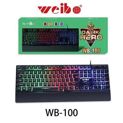 Teclado Weibo WB - 100