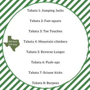 32 Minute Tabata: No equipment required