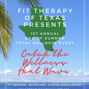 Your invited to our End of Summer Total Wellness Event