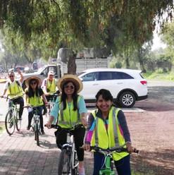 Paseo en bicicleta Teotihuacán