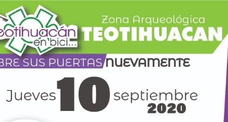 Teotihuacan abre nuevamente sus puertas